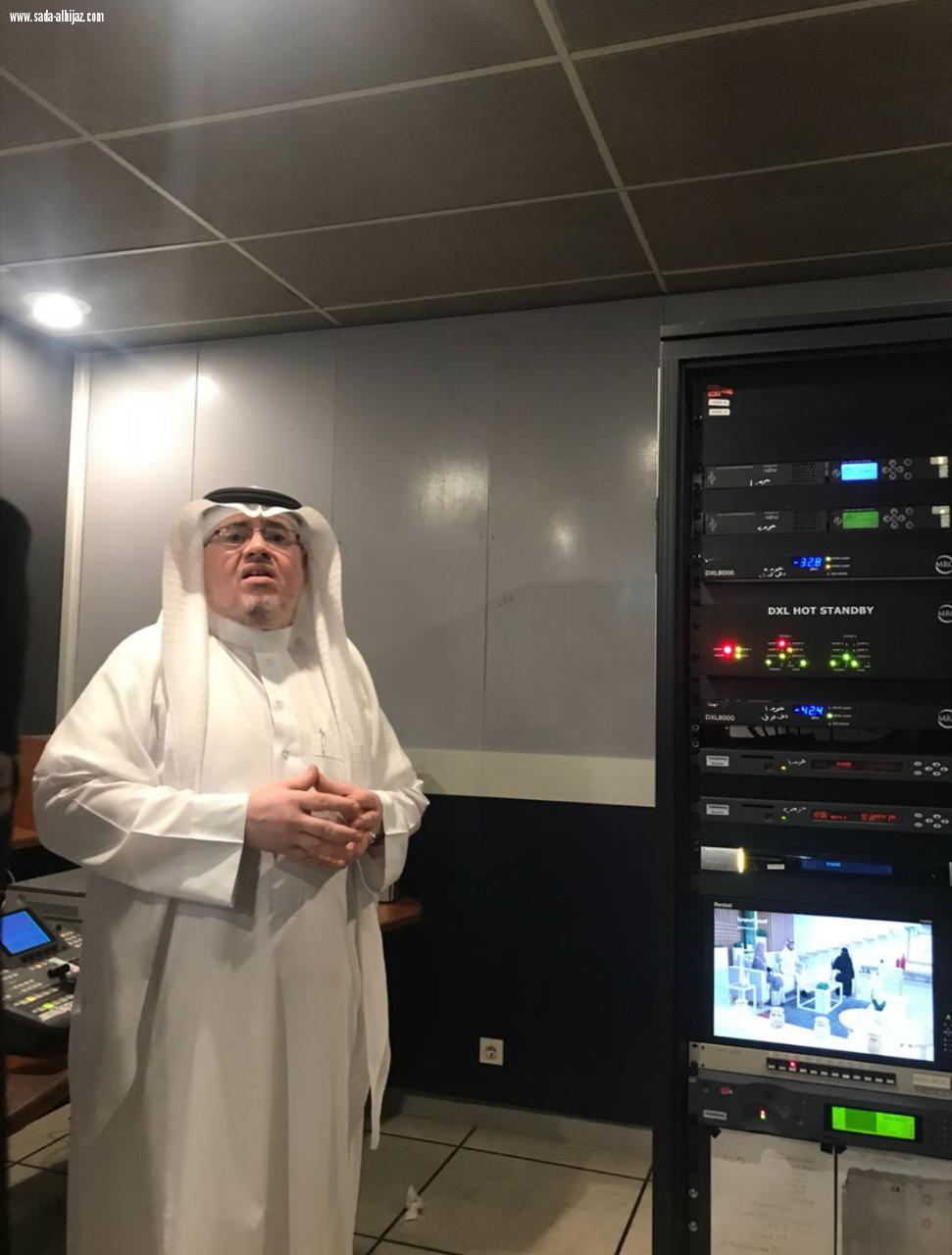 اعلاميات صحيفة صدى الحجاز يزرن مركز تلفزيون المدينة المنورة | صحيفة صدى  الحجاز الالكترونية